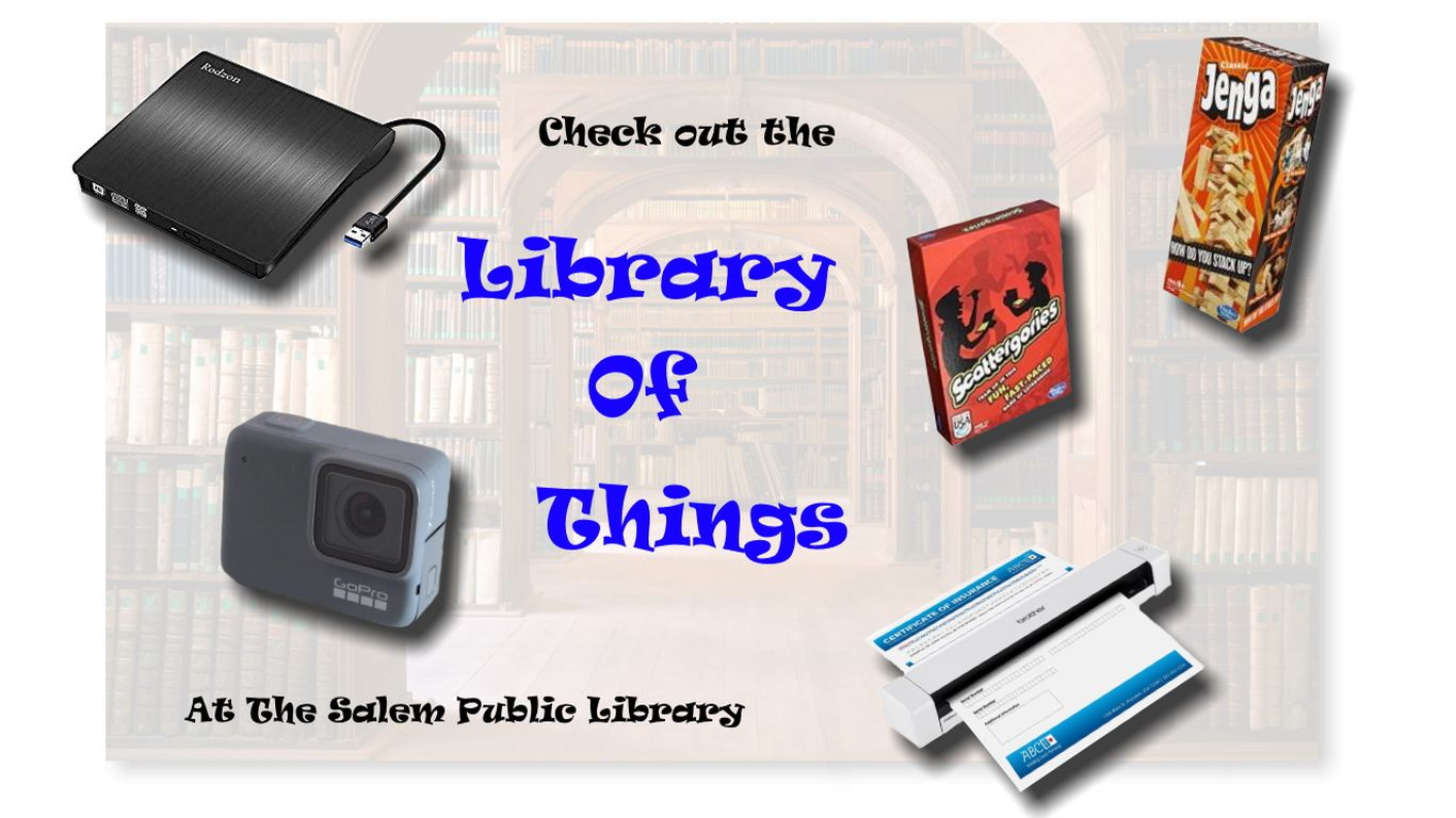 Checkout the Library of Things!