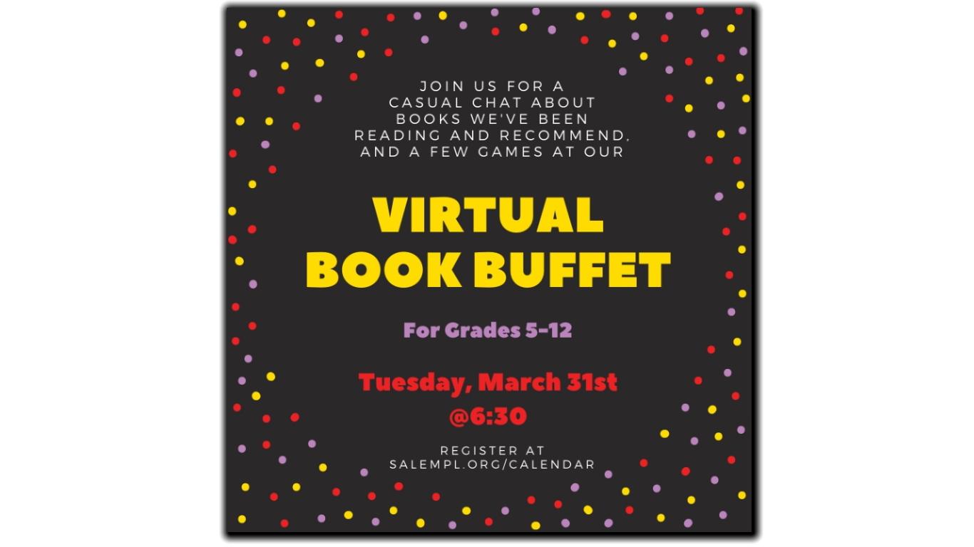 Virtual Book Buffet 2020-03-31!