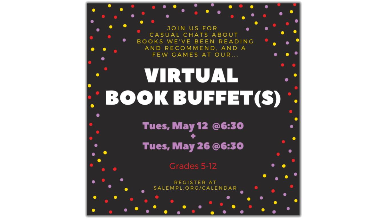 Virtual Book Buffet!