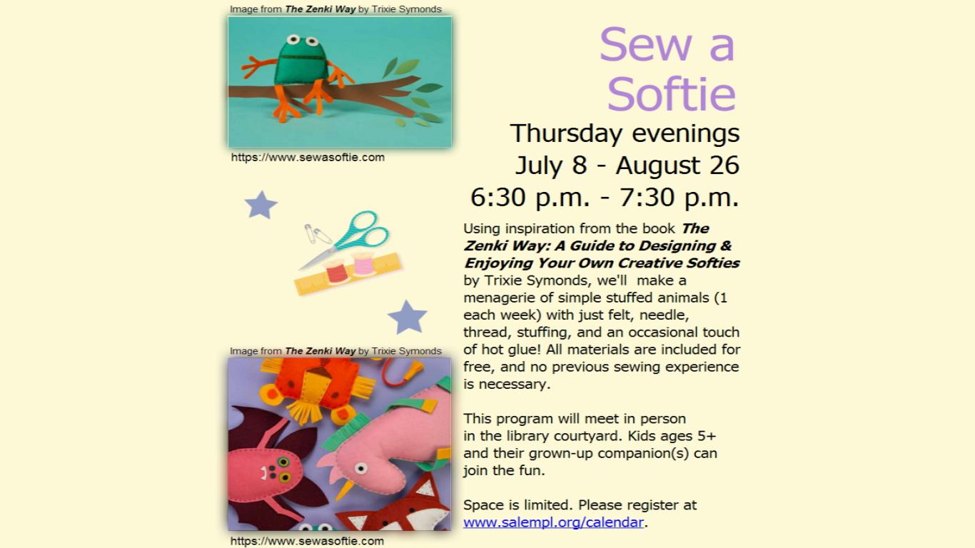 Sew a Softie!