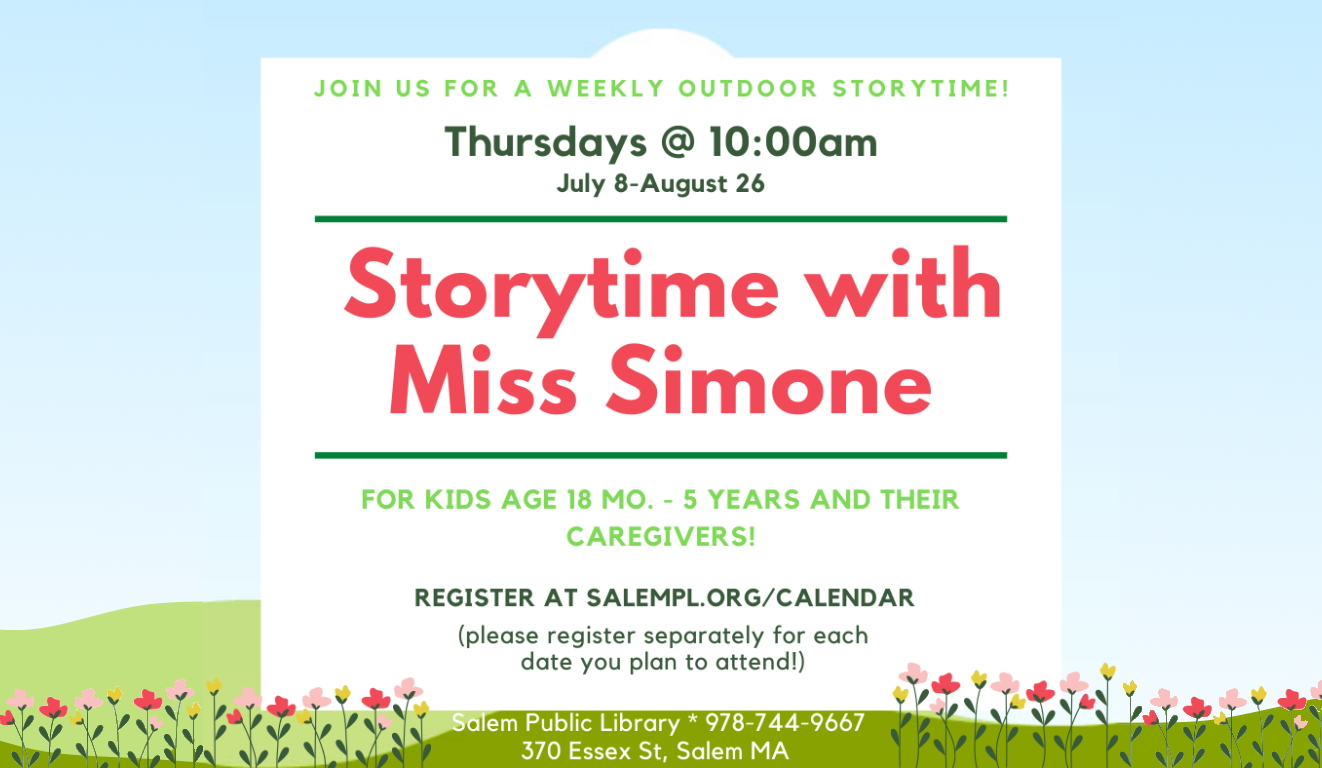Storytime On The Lawn!