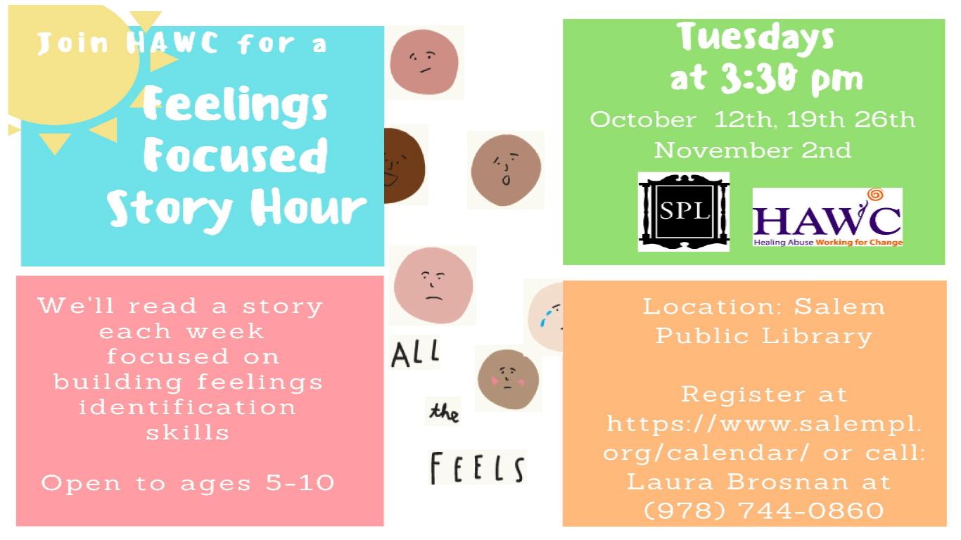 Feelings Focused Story Hour!