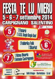 Festa de lu mieru a Carpignano Salentino
