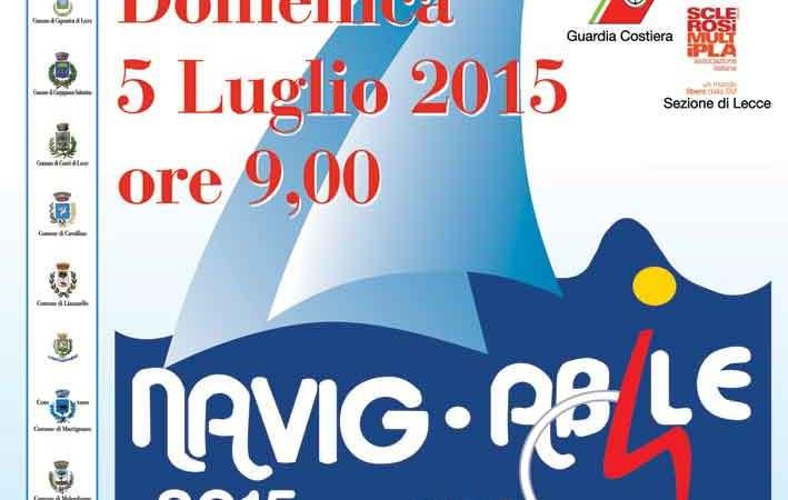 Domenica 5 luglio riparte Navig-Abile , prima tappa da San Foca