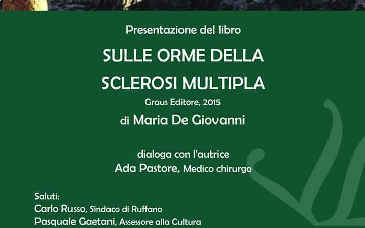 Il libro sulle orme della sclerosi multipla a Ruffano