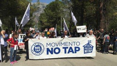 no al gasdotto - manifestazione no tap no snam sulmona