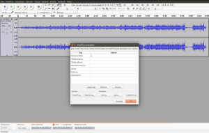 audacity conversione mp3