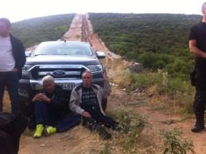 Pati Luceri e Themis Kalpakidis in sciopero della fame