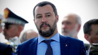 Matteo Salvini - Foto Vincenzo Livieri - LaPresse
