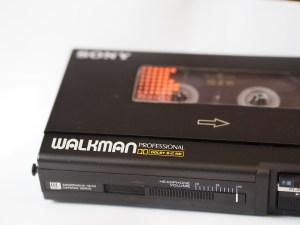 mangiacassette walkman anni '80