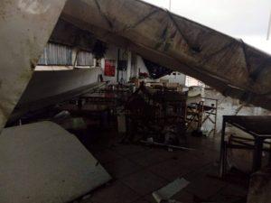 Menamé Tricase Porto - danni dopo passaggio tornado