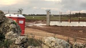 masseria del capitano - fango- pantano - terzo cantiere tap