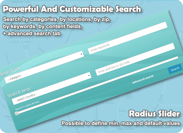 Powerful And Customizable Search
