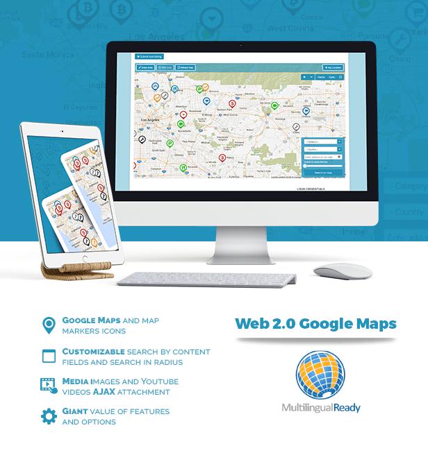 Web 2.0 Google Maps plugin for WordPress 1