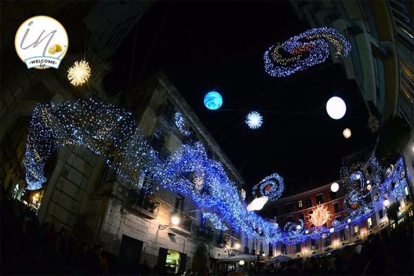 Salerno Luci d'Artista - Galassia