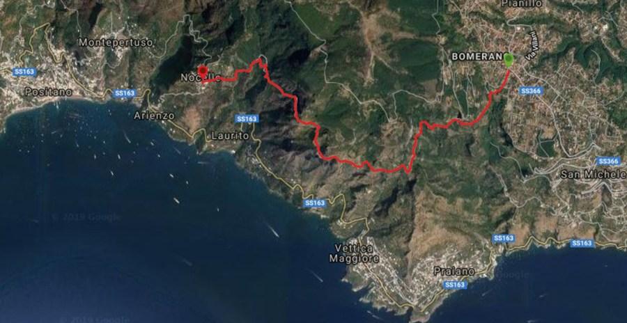 sentiero degli dei trekking costiera amalfitana