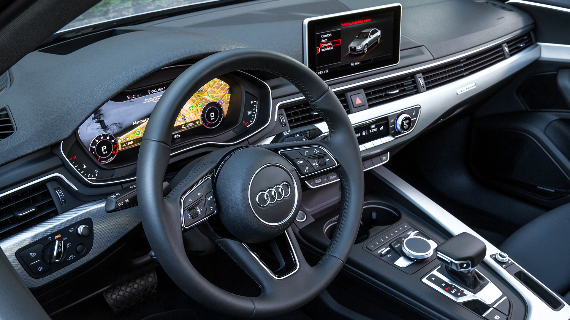 Audi Cockpit based on Kanzi HMI Toolchain
