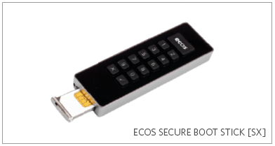 ECOS - Secure boot stick [sx]