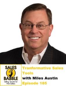 Miles Austin Sales Babble #185