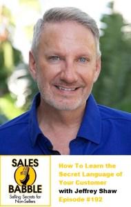 Sales Babble Secret Lingo