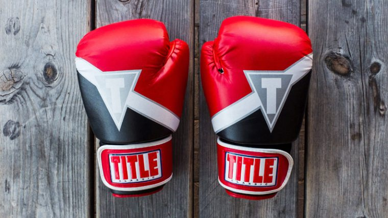 Victorious Goal Setting - Red Boxing Gloves