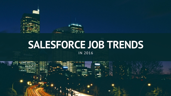 Salesforce job Trends