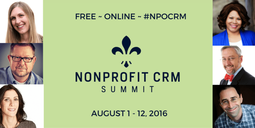 NPOCRM speakers AUGUST 1 - 12, 2016 twitter post
