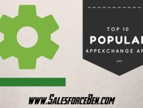 Top 10 Most Popular AppExchange Apps