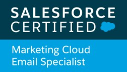 Certified Marketing Cloud Email Specialist