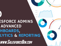 How 10 Salesforce Admin's Get Advanced Dashboards, Analytics and Reporting