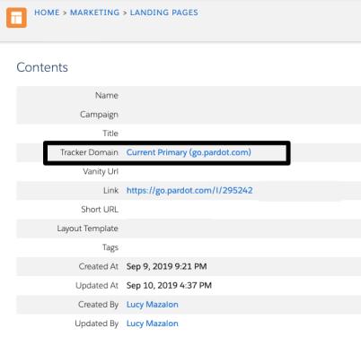 """, Introduction aux domaines Pardot Tracker et aux URL personnalisées<span class=""""wtr-time-wrap after-title""""><span class=""""wtr-time-number"""">4</span> minutes de lecture</span>"""