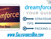 Your Dreamforce Guide – Strategies, Tips & Packing List 2017