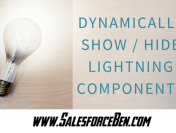 Dynamically Show/Hide Lightning Components