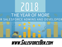 2018 – The Year of MORE, for Salesforce Admins and Developers