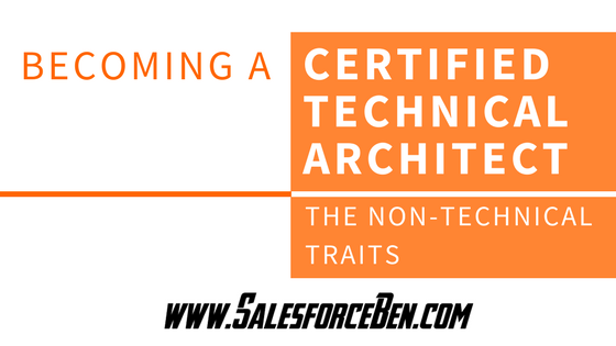 Becoming a Certified Technical Architect: The Non-Technical Traits
