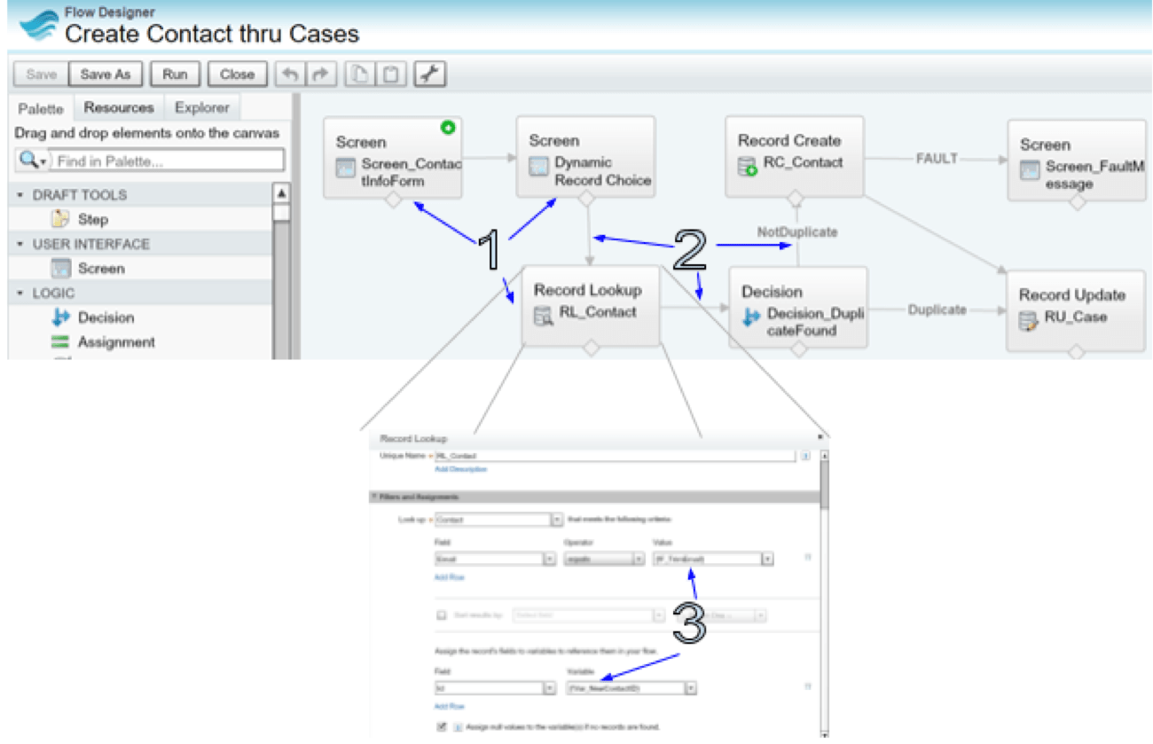 An Introduction To Salesforce Flow Ben Process Diagram Optional Steps Flows Can Be Created From Setup Enter In The Quick Find Box Then Select And Click New We Will Use One Of My Not So Complex