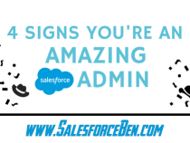 4 Signs You're an Amazing Salesforce Admin