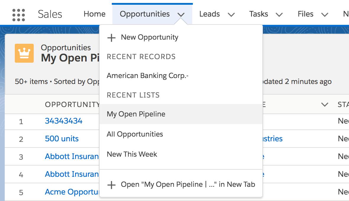 Default List Views in Salesforce - It's Finally Here!