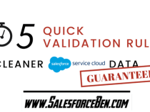 5 Quick Validation Rules – Cleaner Service Cloud Data Guaranteed!