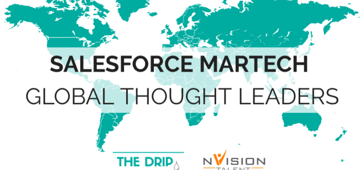 Global Salesforce Marketing Automation Thought Leaders Map