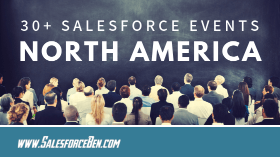 30+ Salesforce Events 2019 - USA & Canada