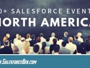 30+ Salesforce Events 2019 – USA & Canada