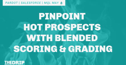 Pinpoint Hot Prospects with Blended Pardot Scoring and Grading