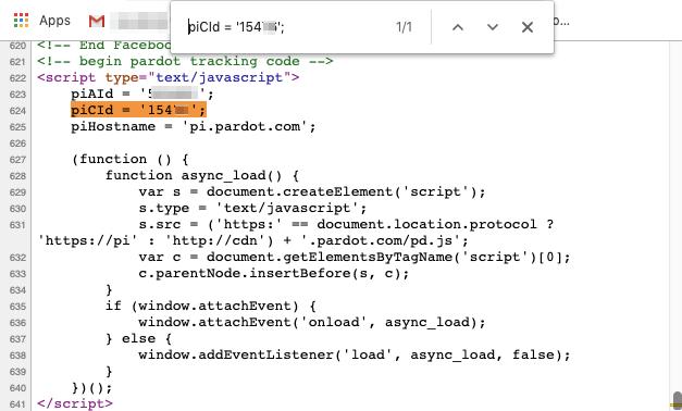 """, Comment puis-je vérifier que le code de suivi Pardot a été ajouté à mon site Web?<span class=""""wtr-time-wrap after-title""""><span class=""""wtr-time-number"""">2</span> minutes de lecture</span>"""