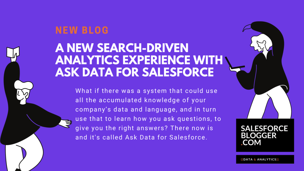 A new search-driven analytics experience with Ask Data for Salesforce