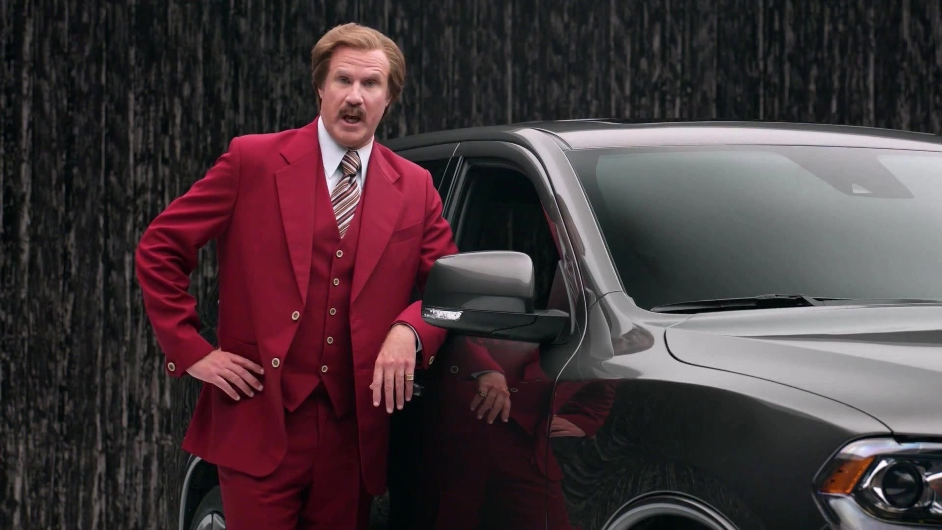 Is Ron Burgundy The Worlds Greatest Car Salesman