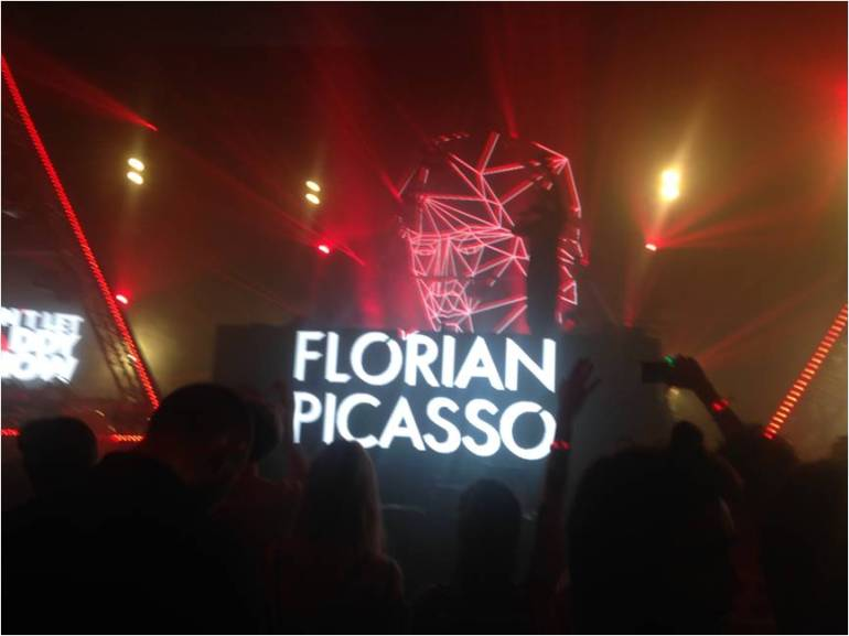 Florican Picasso at Don't Let Daddy Know at Victoria Warehouse, Manchester