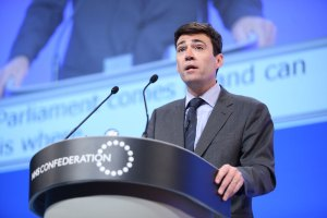 Andy Burnham Greater Manchester Mayor