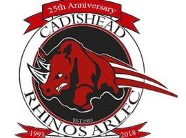 Cadishead Rhinos given new kit sponsor for 2019 season