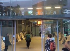 Take a trip back in time with Salford Central's new exhibition